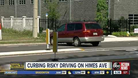 Businesses upset over safety updates along Himes Avenue