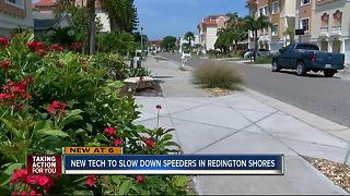 New technology could slow speeders in Redington Shores - Video