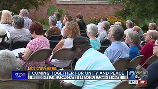 Uniting the community against hate