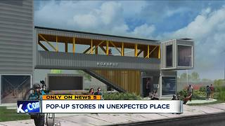 Cleveland's Kinsman neighborhood plans a new kind of shopping complex to promote small businesses - Video