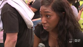 Protesters share stories in Brooksville