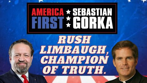 Rush Limbaugh, champion of truth. Thomas D. Williams with Sebastian Gorka on AMERICA First