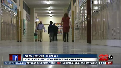 New COVID threat, virus variant now infecting children