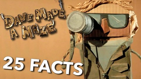 25 Facts About Dave Made A Maze