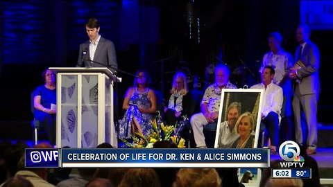 Celebration of life for Dr. Ken & Alice Simmons