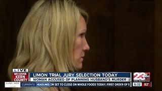 Sabrina Limon jury selection - Video
