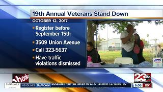 19th annual Stand Down will pardon traffic violations for veterans