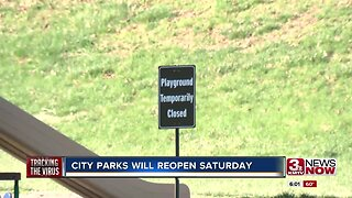 City Parks Will Reopen Saturday