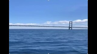 Coast Guard searching for plane that flew under Mackinac Bridge