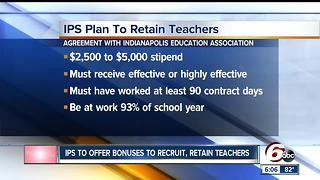 CALL 6: IPS plans bonuses for high school teachers - Video