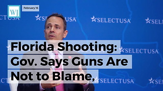 Florida Shooting: Gov. Says Guns Are Not To Blame, Reveals What Is Truly Responsible