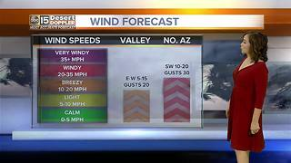 Windy day around the Valley - Video