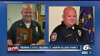 Indiana women work together to provide emotion support to Lt. Aaron Allan's family - Video