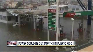 Hurricane Maria causes devastation Puerto Rico - Video