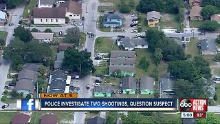 Winter Haven police investigating two shootings in same area, one person dead