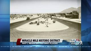 Miracle Mile corridor listed in National Register of Historic Places - Video