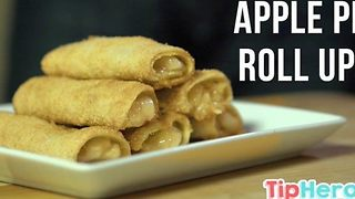 Easy Apple Pie Roll-Ups