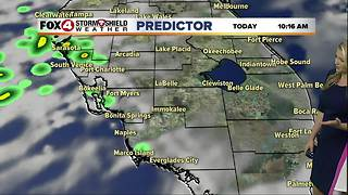 FORECAST: Hot & Humid with a Few Storms