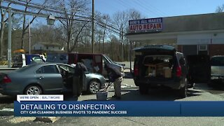 City car cleaning business pivots to pandemic success