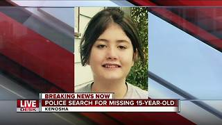 Kenosha Police looking for missing 15-year-old girl
