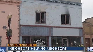 Community helps family after fire - Video