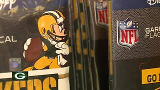 Disney merchandise highlights new Packers Pro Shop additions - Video