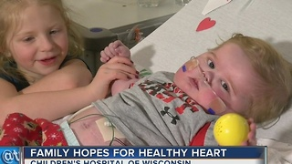 Des Moines family spends Christmas in Milwaukee, hopes for healthy heart - Video