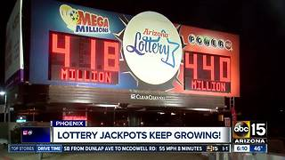 Lottery jackpots keep growing - Video
