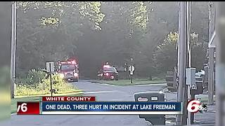 Lift collapse on Lake Freeman leaves one person dead - Video