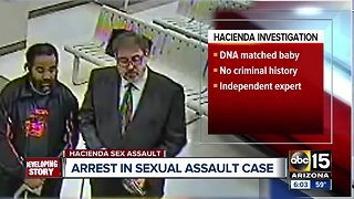 Suspect in Hacienda sexual assault makes first appearance