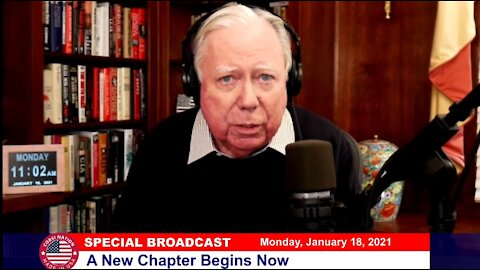 Dr Corsi SPECIAL BROADCAST 01/18/21: A New Chapter Begins Now