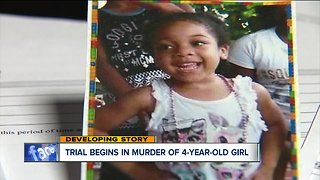 Trial of mother, boyfriend accused of killing 4-year-old Aniya Day-Garrett begins