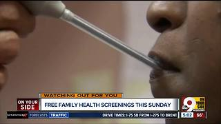Family Health Day brings free screenings to a location near you on Sunday - Video
