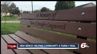 Bench dedicated to Richmond Hill victims who were killed in explosion
