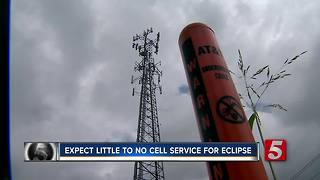 Expect Little Cell Service For Solar Eclipse - Video