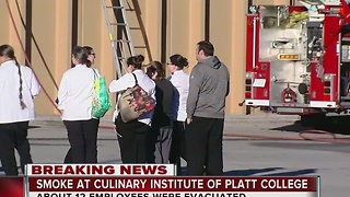 Fire breaks out inside Tulsa culinary institute - Video