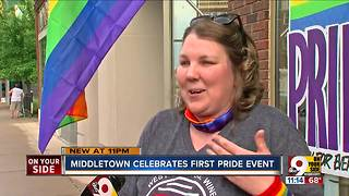 Middletown's first LGBT Pride event draws crowds - Video
