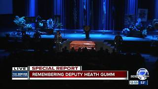 End of watch final call for Adams County Deputy Heath Gumm - Video