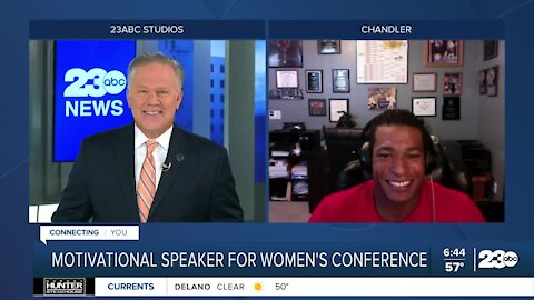 Motivational speaker Anthony Robles to speak at the Bakersfield Women's Conference