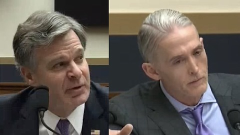 Rep Trey Gowdy DISECTS FBI Director Chris Wray