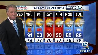 Latest Weather Forecast 11 p.m. Tuesday - Video