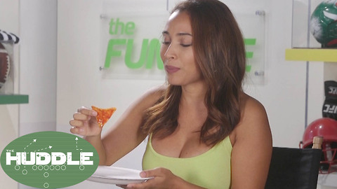 Britt Johnson Takes on the One Chip Challenge! Sort Of - The Huddle