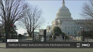 Heavy security presence as inauguration approaches
