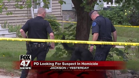 PD looking for suspect in homicide