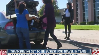 Thanksgiving set to be busiest for travel in years - Video