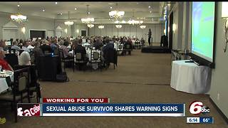 Jenna Quinn, a sexual abuse survivor, is spreading a message of prevention and hope - Video