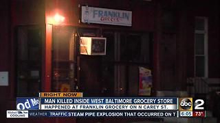 Man shot inside convenience store has died