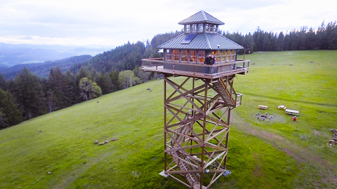 Our Fire Tower House In The Sky: HOMES ON THE EDGE