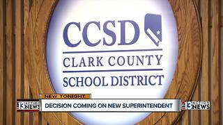 Clark County School District sets list of superintendent finalists - Video