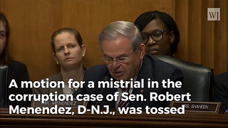 Federal Judge Denies Mistrial In Menendez Case - Video